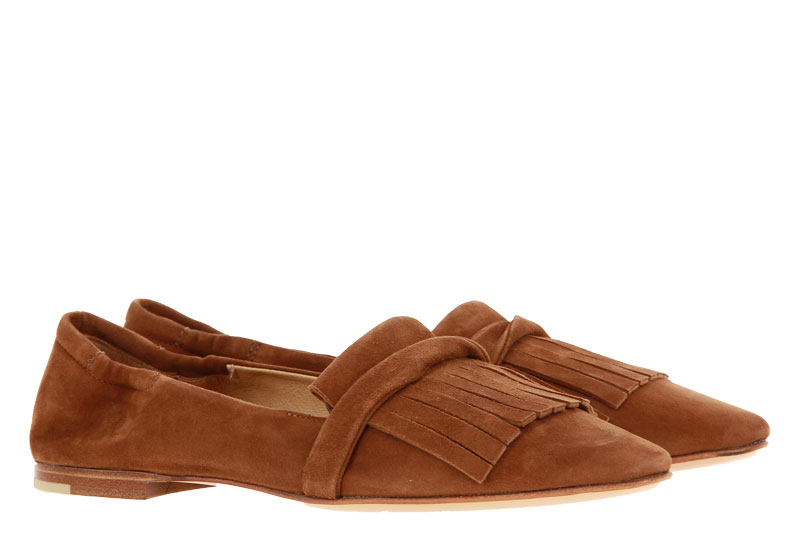 Pomme D`Or Slipper AVA CAMOSCIO TOFFEE (41½)