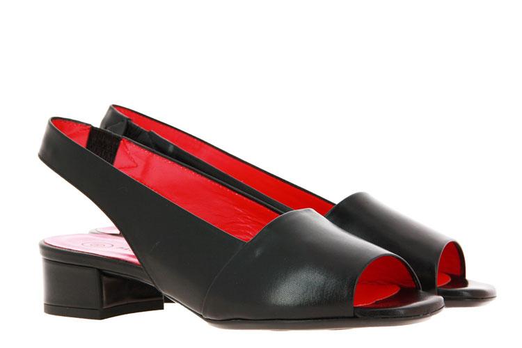 Pas de rouge Sandale NAPPA NERO (43)