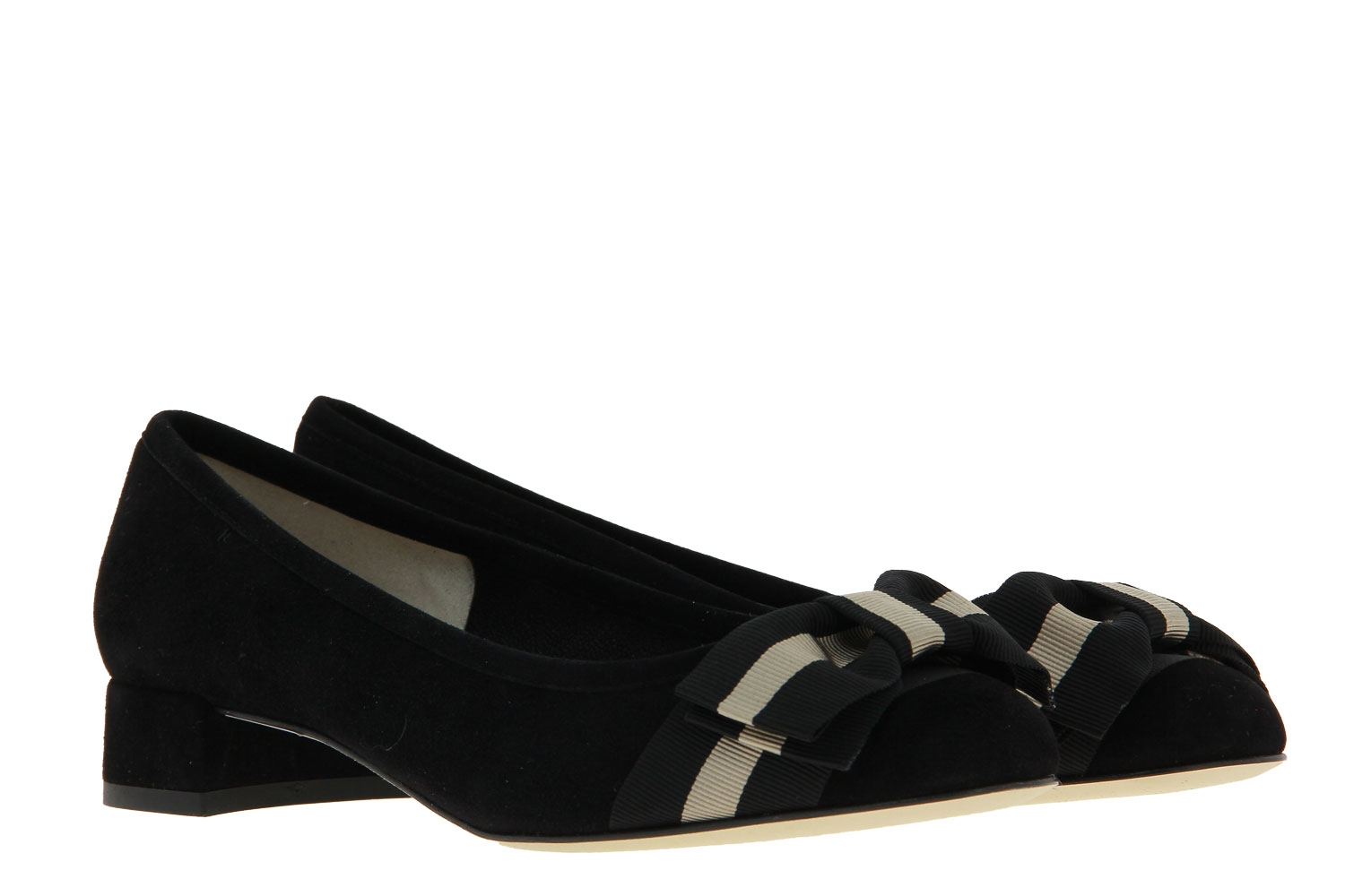 Status Pumps SUEDE NERO (38)