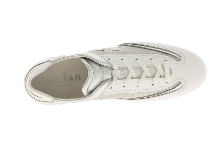 Hogan Sneaker OLYMPIA ALLCACCIATO ARGENTO BIANCO (37 )