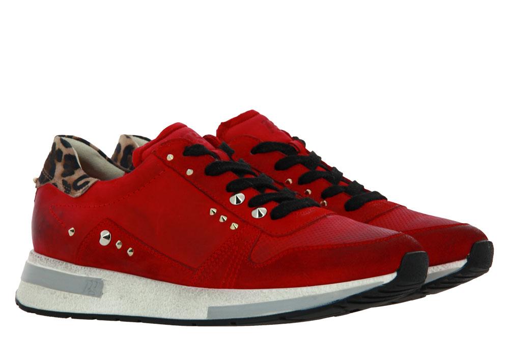 Paul Green Sneaker SAMTZIEGE ROYAL NUBUK RED (39)