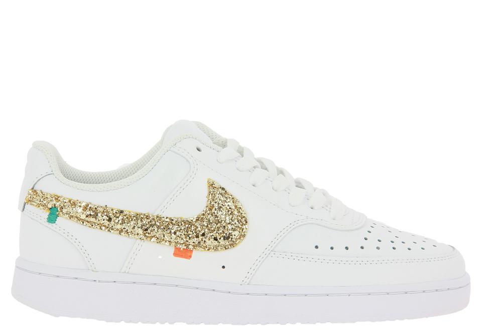 Nike by BallodaSola Sneaker COURT VISION GLITTER ORO