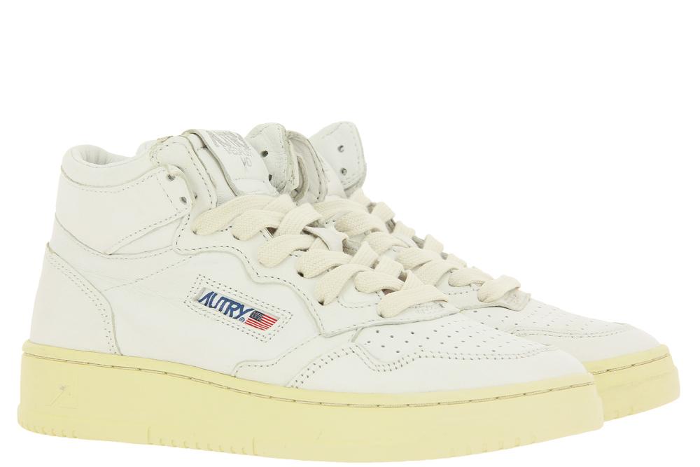 Autry Sneaker MID WOMAN GOAT WHITE