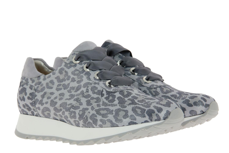 Hassia Sneaker MADRID K-WEITE LEO METAL LEDER SILBER (40½)