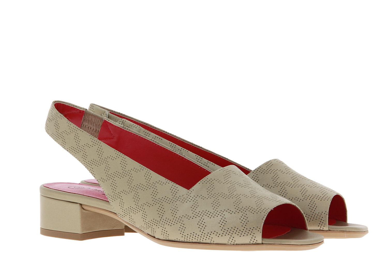 Pas de rouge Sandale LIQUID PLATINO (39)