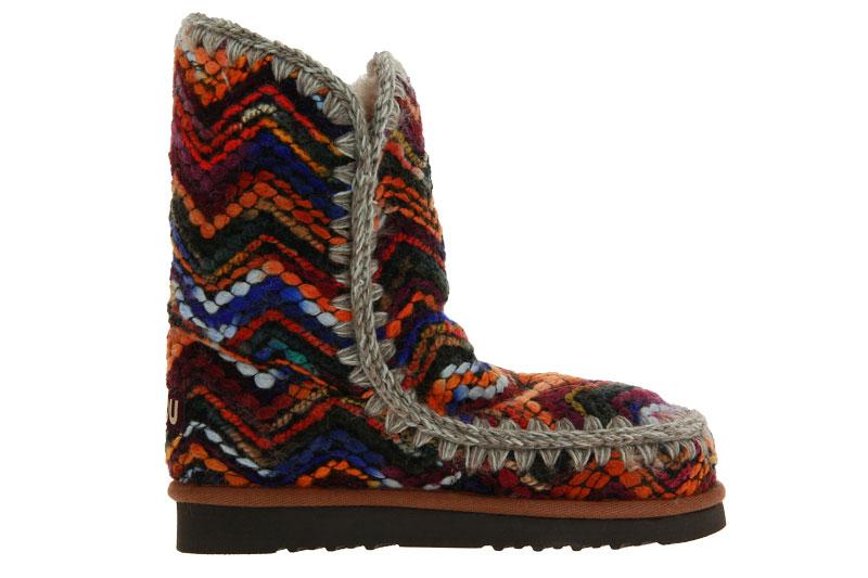 MOU Boots ESKIMO 24 WOOL FABRIC WOOL MIX MULTI (41)