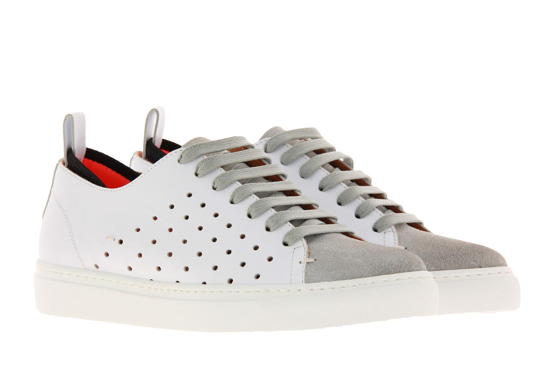 Levius Sneaker RIVA HOLE CAMOSCIO BIANCO GHIACCIO (37 )
