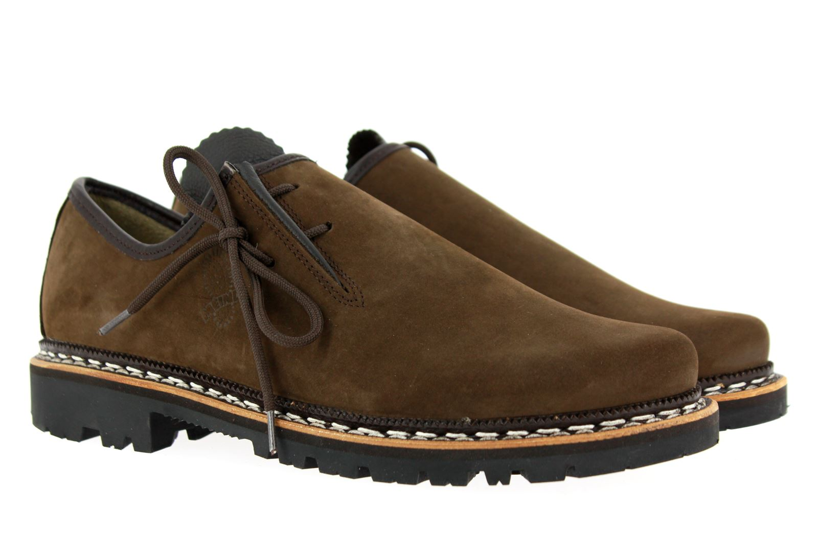 Meindl Haferlschuh ROTTACH BROWN NUBUK CALF (46½)