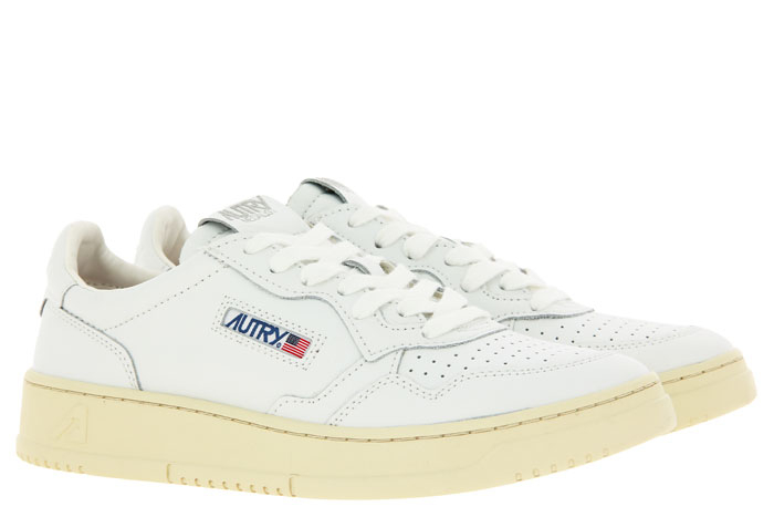 Autry Sneaker LOW MAN LEATHER WHITE (43)