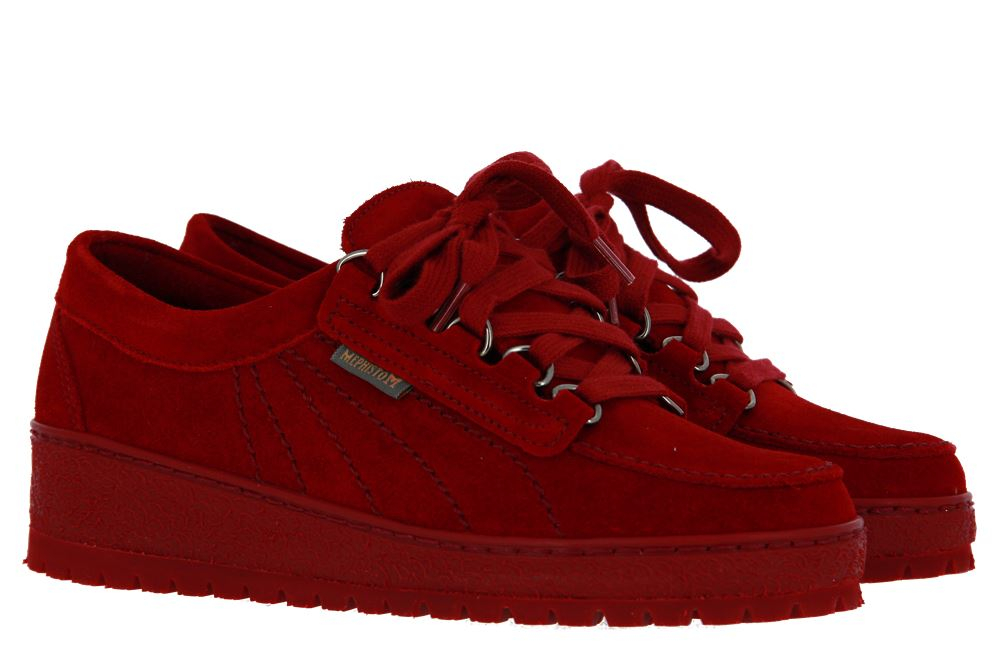 Mephisto Sneaker LADY RED VELOURS 9801 (37½)