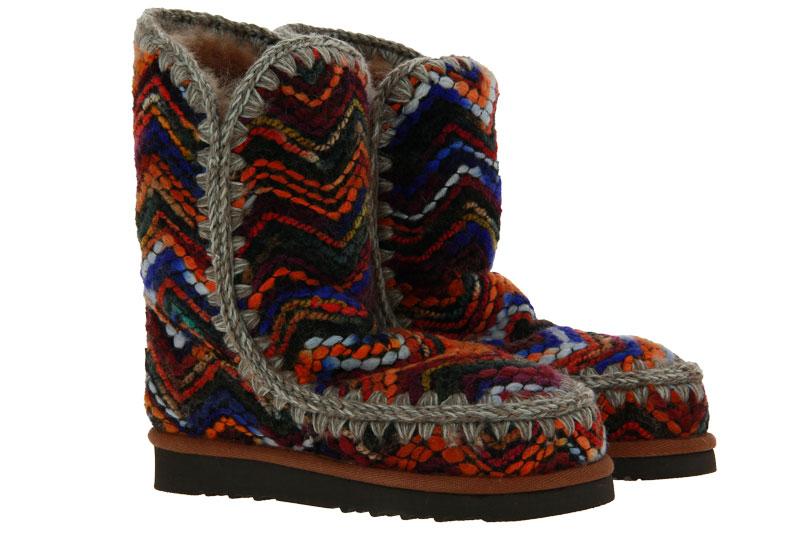 MOU Boots ESKIMO 24 WOOL FABRIC WOOL MIX MULTI (38)