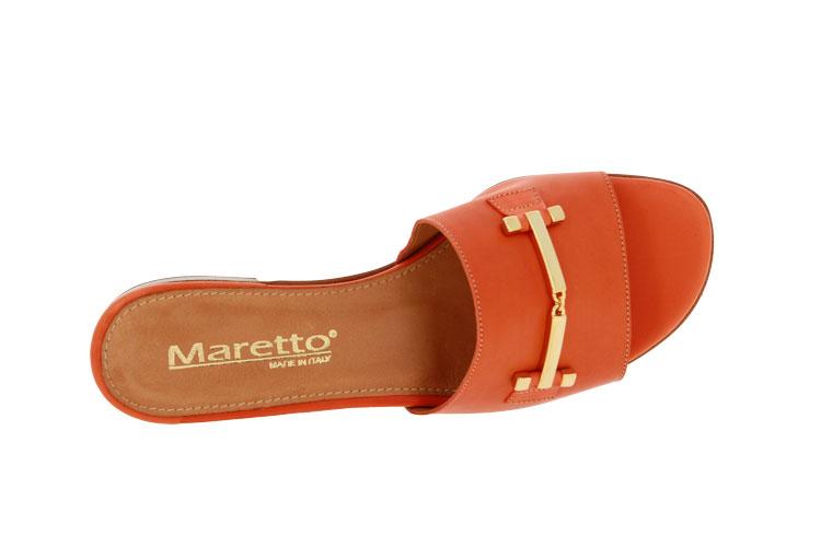 Maretto Pantolette LEATHER PAPAYA  (41)