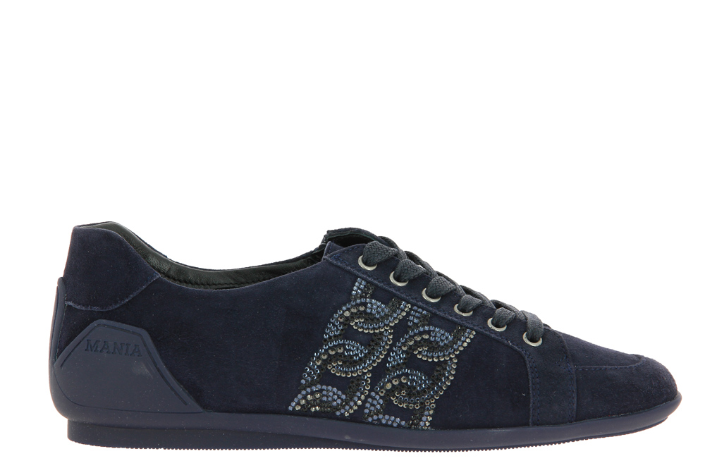 Mania Sneaker gefüttert CAMOSCIO BLUE