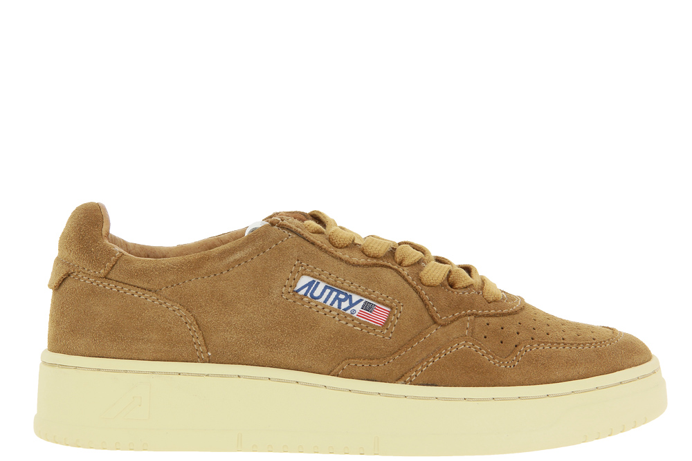 Autry Sneaker LOW MEDALIST SUEDE CARAMEL