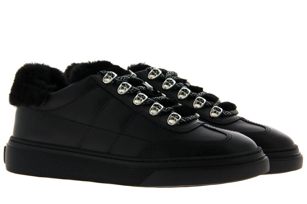 Hogan Sneaker ALLACCIATO BASSO H STITCHING NERO (38½)