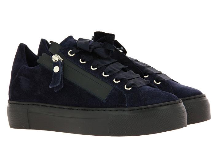 Attilio Giusti Leombruni Sneaker CAMOSCIO NIGHT NERO (38)