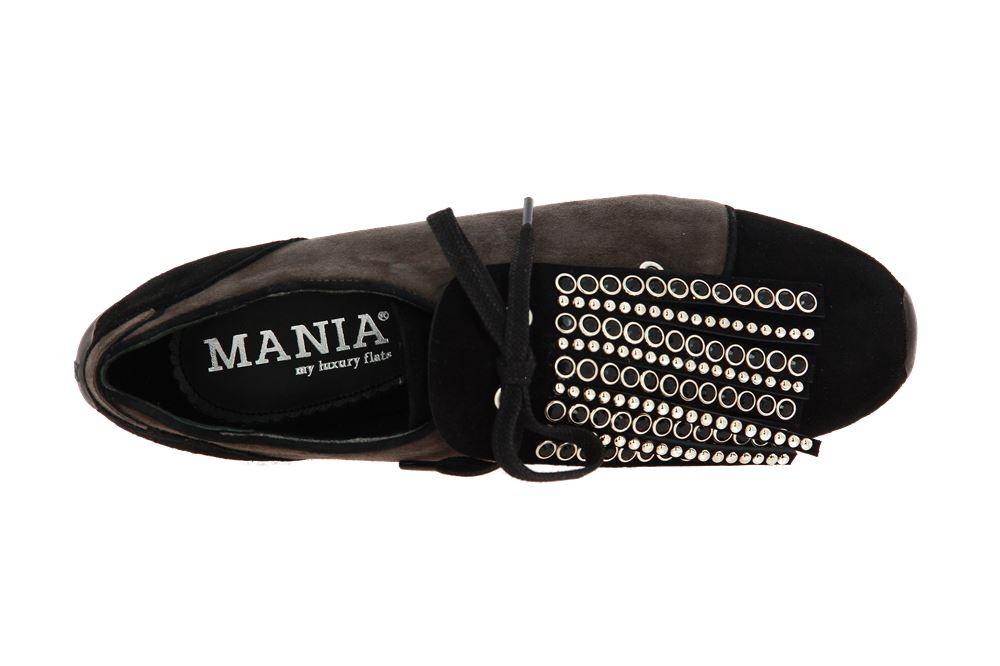 Mania Sneaker CAMOSCIO NERO 080 (37½)