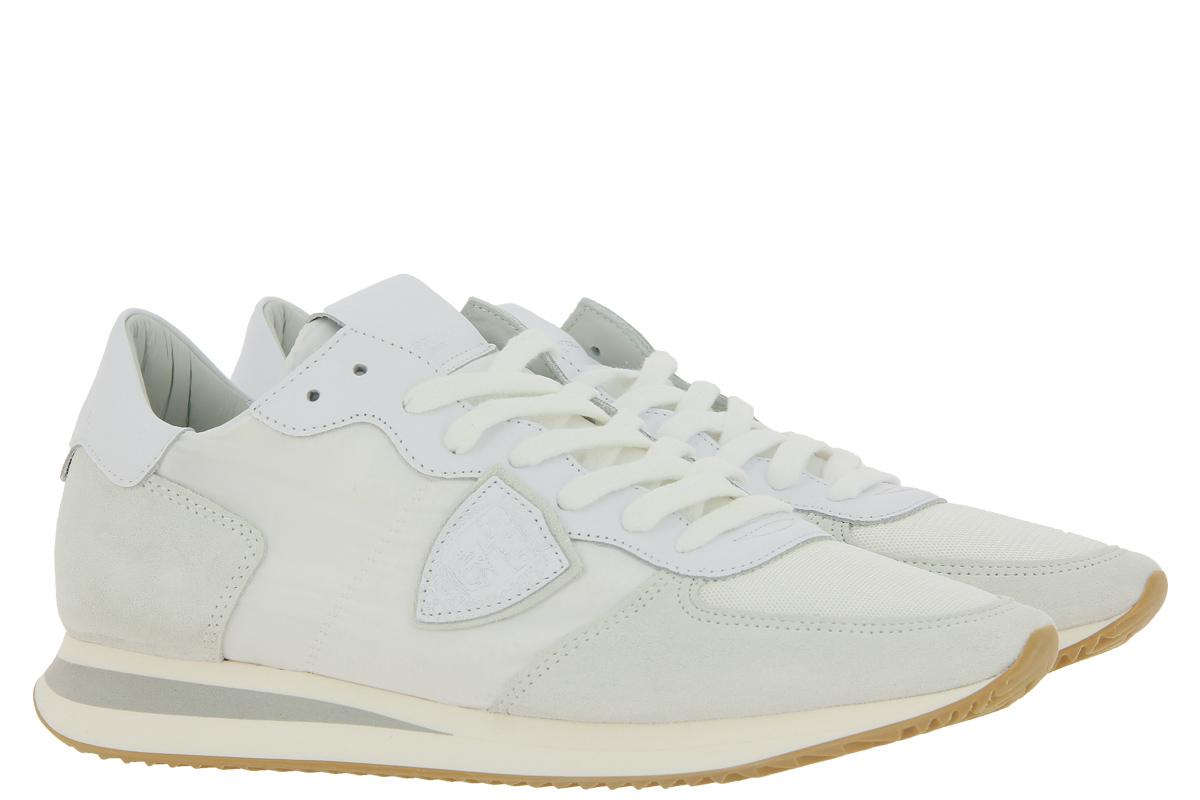 Philippe Model Sneaker LOW MAN BASIC BLANC