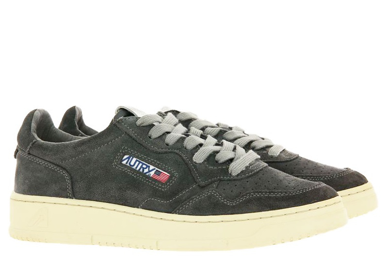 Autry Sneaker LOW MAN SUEDE GREY (45)