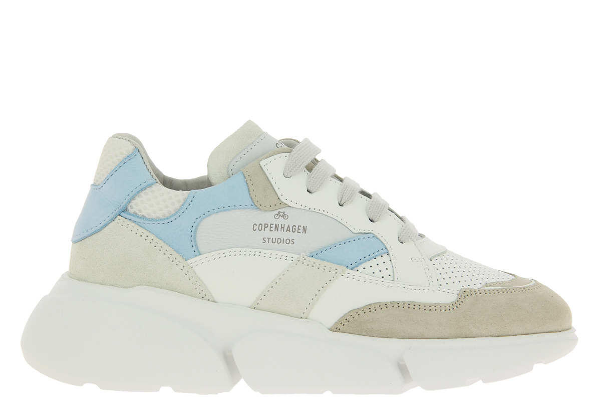 Copenhagen Sneaker CPH555 MATERIAL MIX LIGHT BLUE