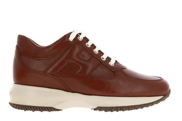 Hogan Sneaker INTERACTIVE NAPPA MARRONE (40)