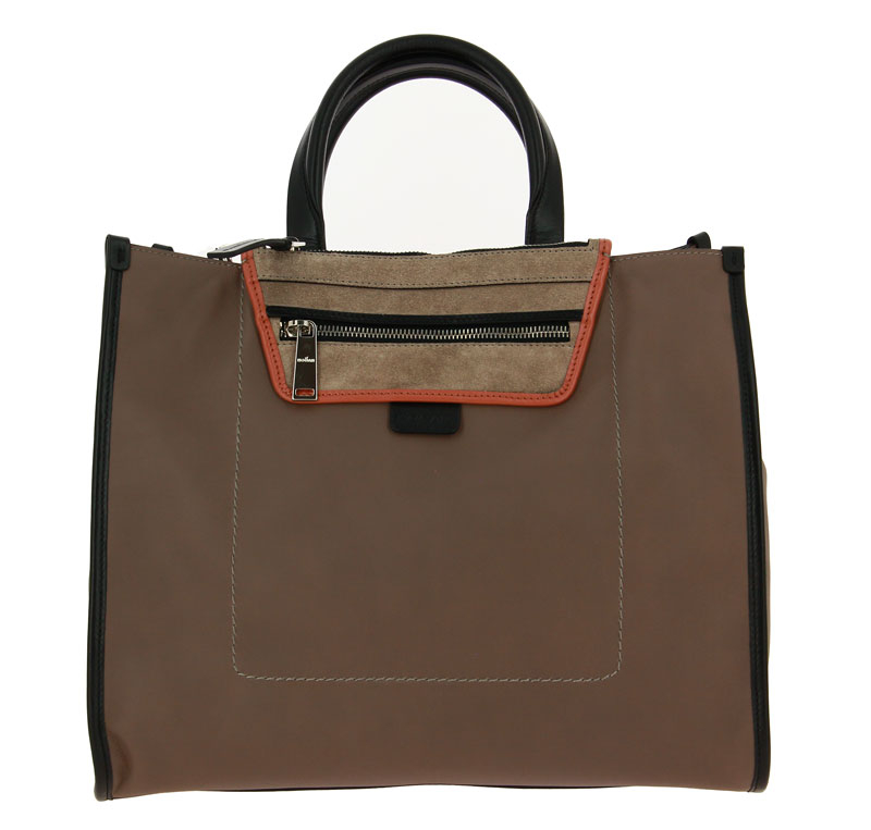 Hogan Handtasche SHOPPER MEDIA TAUPE