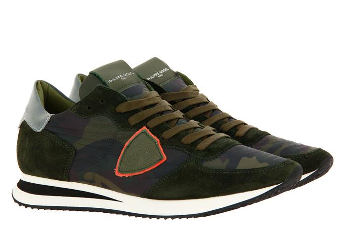 Philippe Model Sneaker TROPEZ CAMOUFLAGE MILITARE (41)