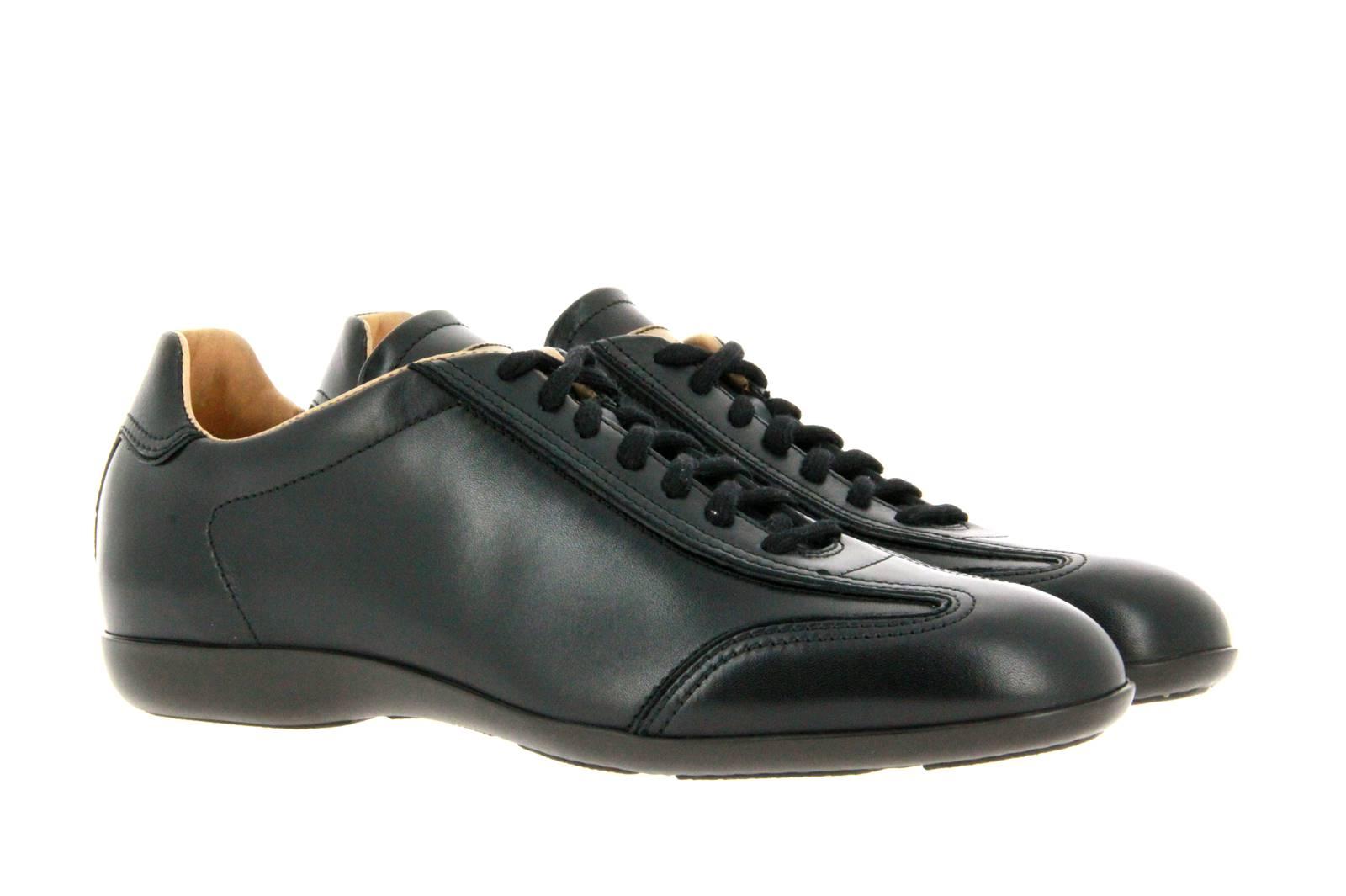 Santoni Sneaker LEATHER BLACK (43½)