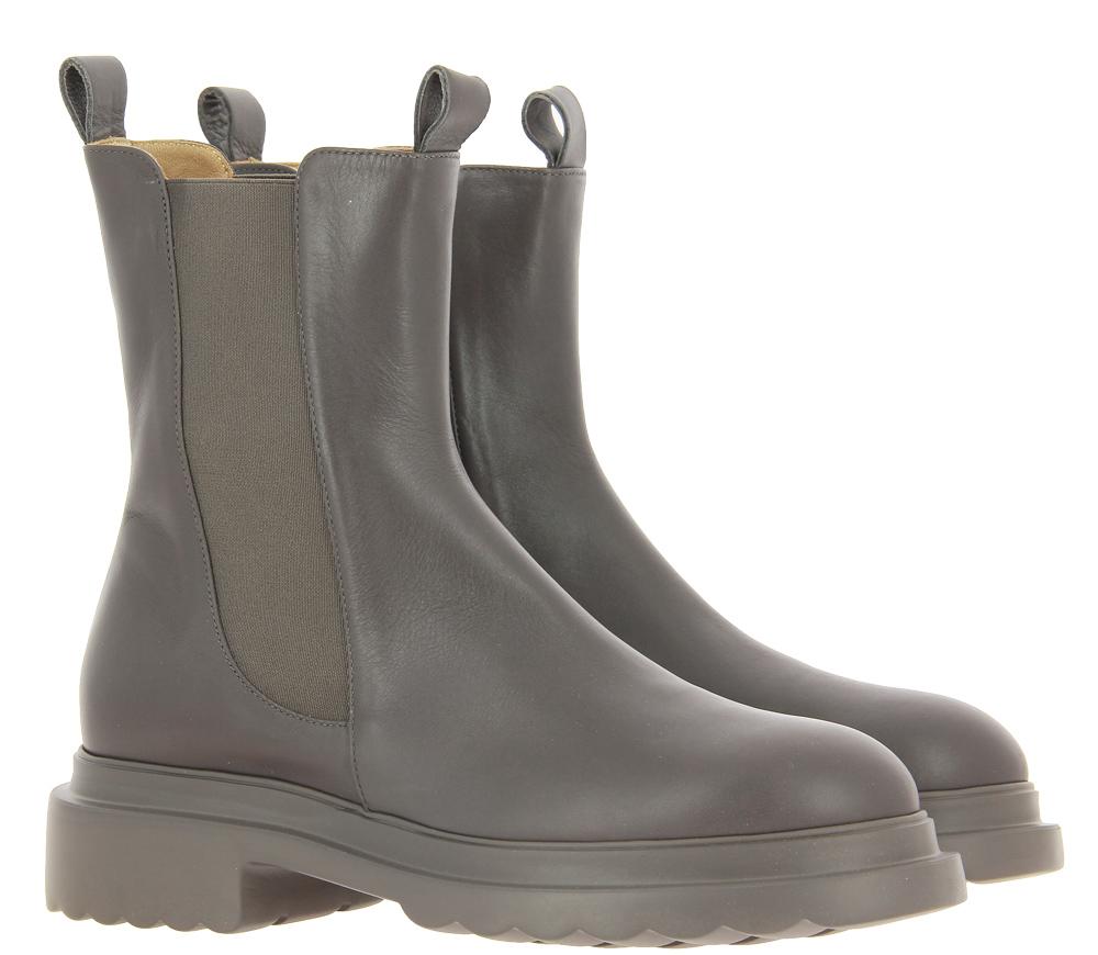 Pomme d'Or Boots REY SETA GOMMA TORTORA