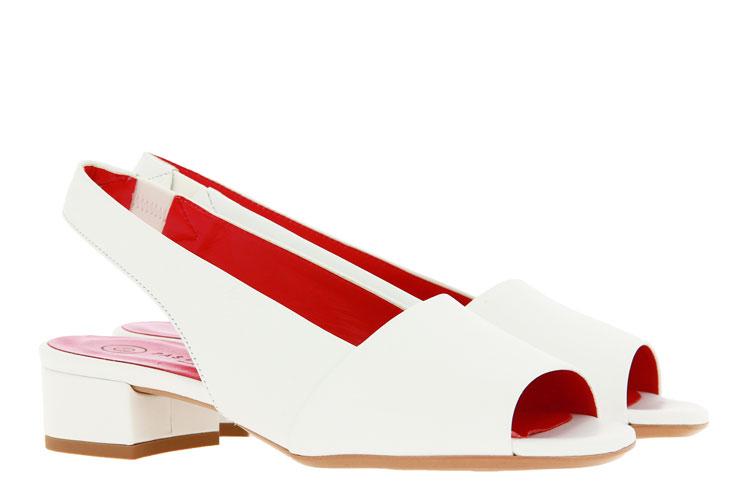 Pas de rouge Sandale NAPPA BIANCO (37 )