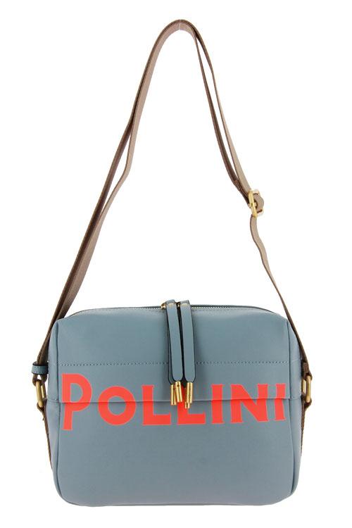Pollini Tasche BORSA SOFT GRAINED SKY