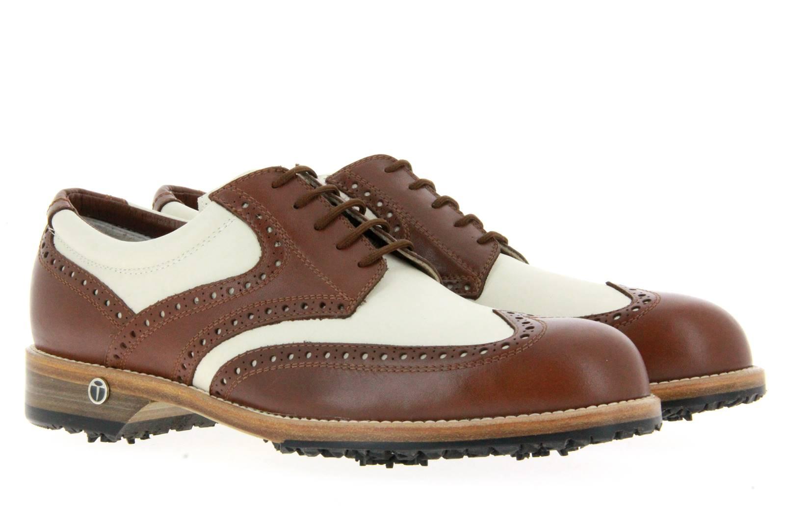 Tee Golf Shoes Herren- Golfschuh TOMMY BRANDY BEIGE (46½)