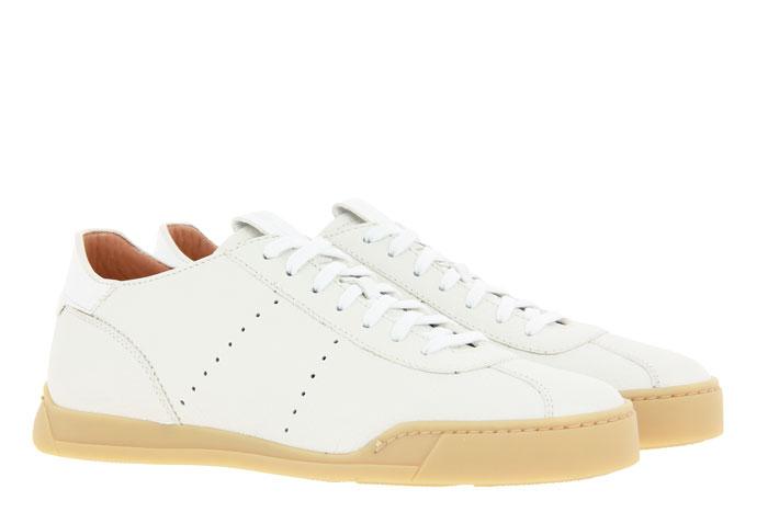 Santoni Sneaker LEAHTER WHITE (42)