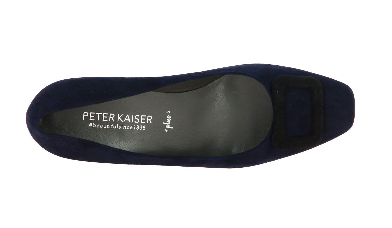 Peter Kaiser Pumps PANNI NAVY SUEDE SCHWARZ (38)