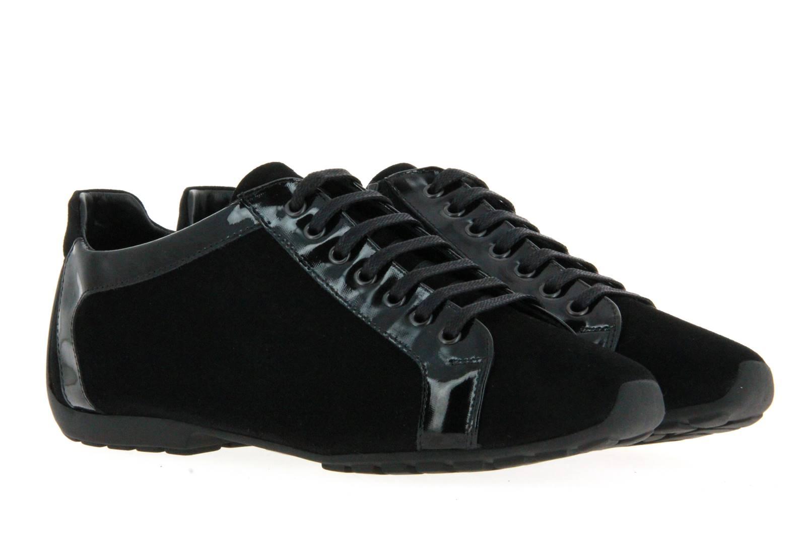 Mania Sneaker CAMOSCIO PIUMA NERO (39)