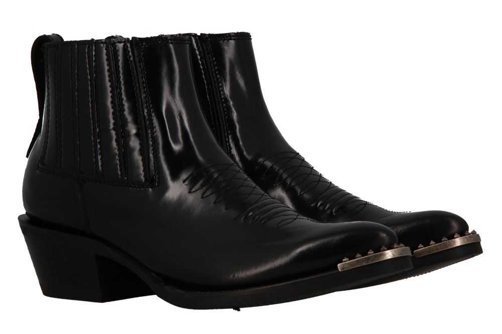 Ash Stiefelette PEPPER BLACK OLD NIQUEL STUDS (39)