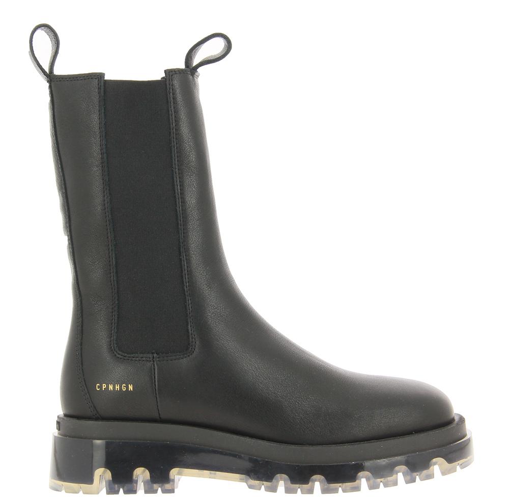 Copenhagen Boots CPH1000 VITELLO BLACK