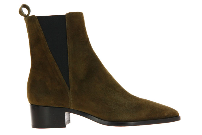 Pomme D'Or Stiefelette CAMOSCIO MILITARY (38)
