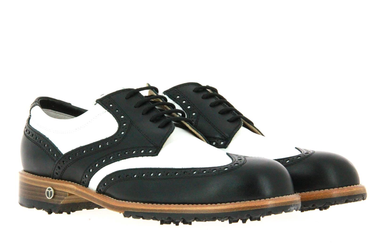 Tee Golf Shoes Herren- Golfschuh TOMMY VITELLO WP NERO BIANCO (42½)