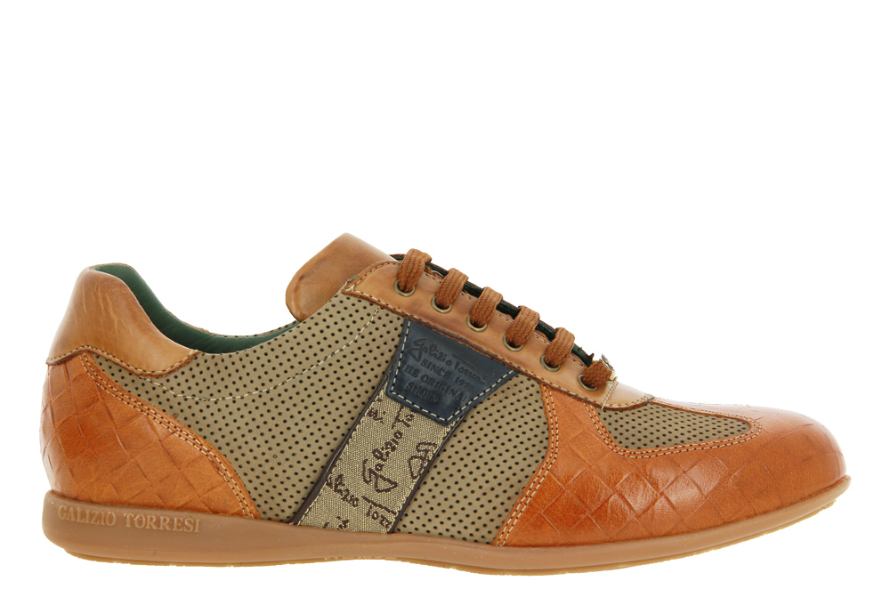 Galizio Torresi Sneaker EXTRA WIDE BUFALO COGNAC