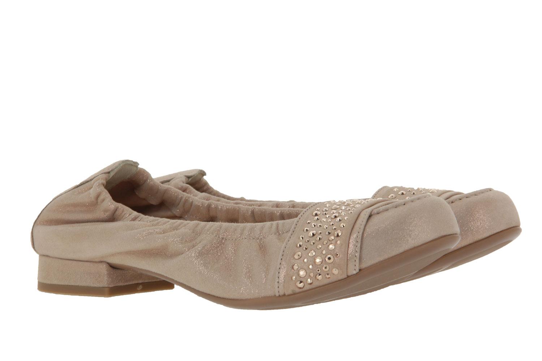 Hassia Ballerina BOLOGNA WEITE-G LEDER ROSE (37½)