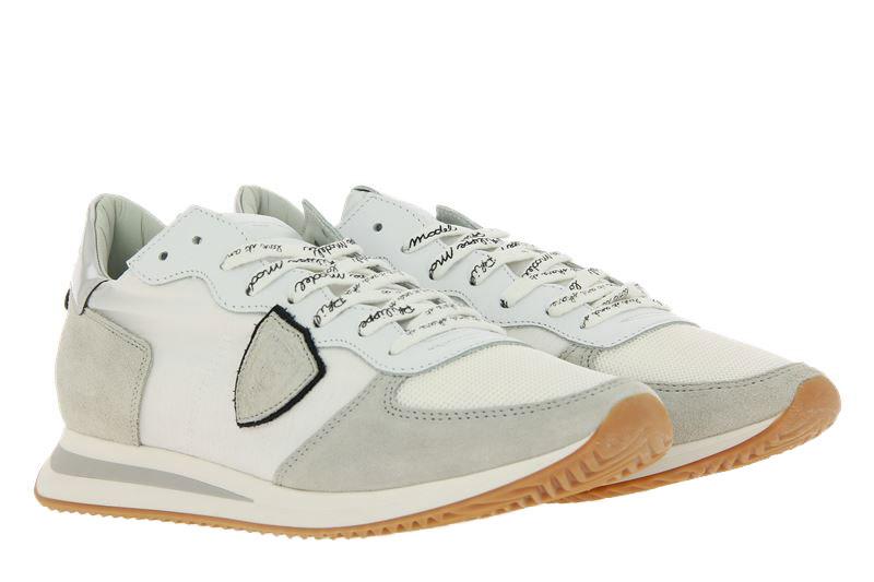 Philippe Model Sneaker TROPEZ MONDIAL BUBBLE BLANC ARGENT (46)