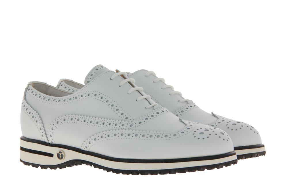 Tee Golf Shoes Damen- Golfschuh EVA VITELLO WP BIANCO (41)