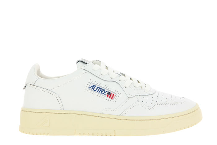 Autry Sneaker LOW WOMAN LEATHER WHITE (39)