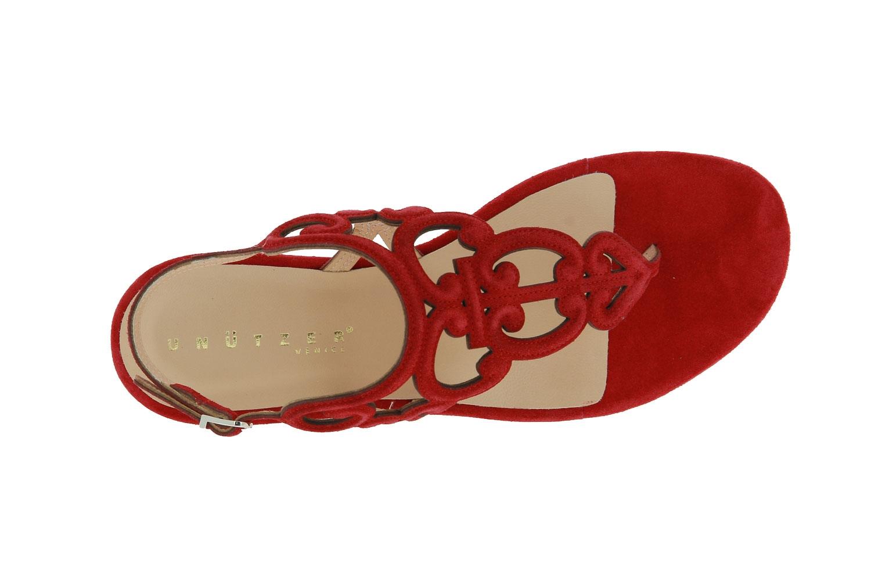Unützer Sandale VELOUR ROSSO (37½)