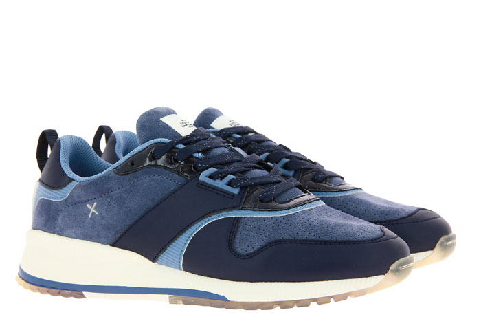 Scotch & Soda Sneaker VIVEX LEATHER SUEDE NAVY BLUE (44)