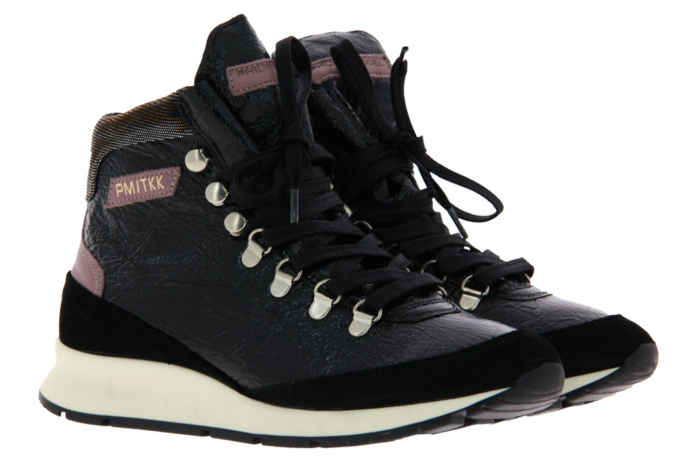 Philippe Model Sneaker LATEX NOIR (38)