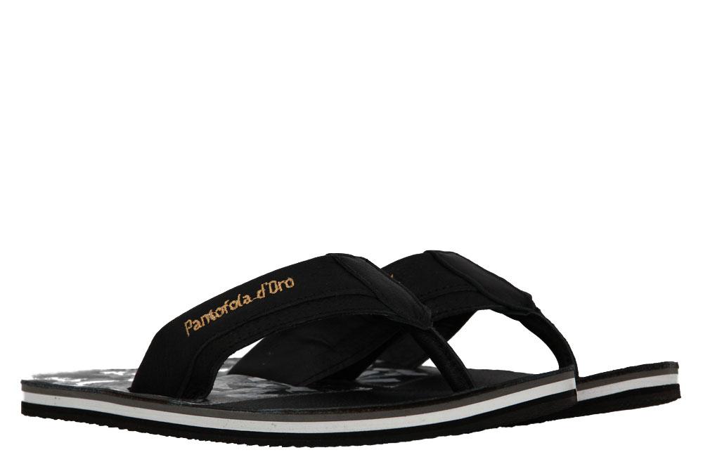 Pantofola d´Oro Flip Flop SARDINIA SLIPPER UOMO BLACK (44)