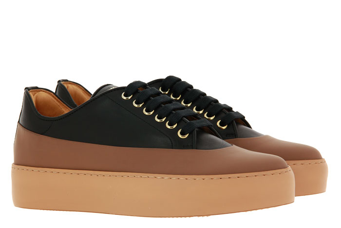 Camerlengo Sneaker GUM CUOIO PRINCES NERO (38)