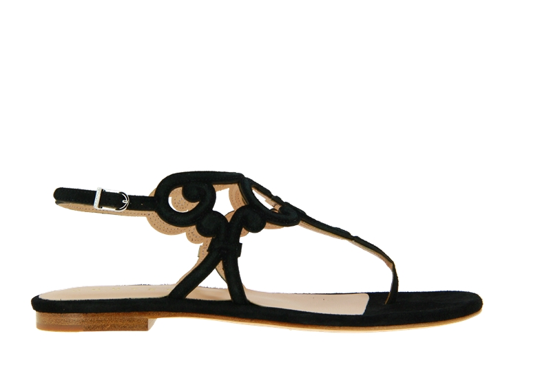 Unützer Sandale VELOURS NERO (38)